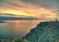 Links neben dem Nordkap der eigentlich nördlichste Punkt Knivskjellodden