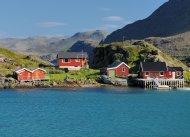 Fischerdorf auf Magerøya