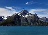 Gletscher in den Lyngenalpen