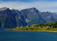 Djupvik am Lyngenfjord