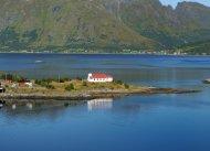 Kirche im Eidsfjord