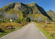 Unterwegs auf der Insel Vestvågøy