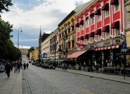 Die Karl-Johans Gate in Oslo