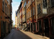 Köpmangatan in der Altstadt
