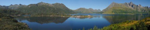 Eidsfjord auf den Lofoten